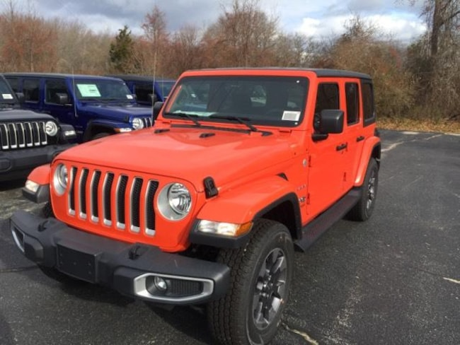 New 2018 Jeep Wrangler UNLIMITED SAHARA 4X4 Sport Utility in Falmouth, MA