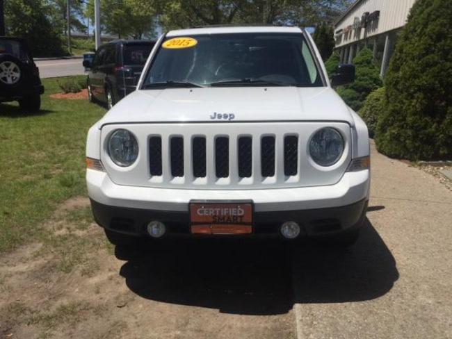Certified Pre-Owned 2015 Jeep Patriot Latitude 4x4 SUV On