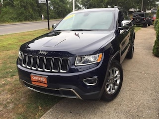 Certified Pre-Owned 2015 Jeep Grand Cherokee Limited 4x4 SUV for sale in Falmouth, Cape Cod, MA