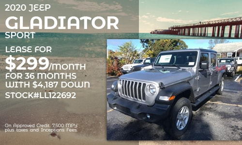 2020 Jeep Gladiator Sport Lease