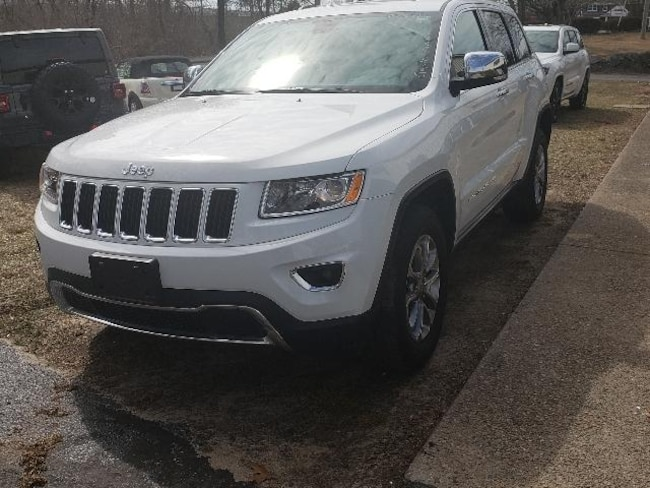 Certified Pre Owned Jeep >> Certified Pre Owned 2016 Jeep Grand Cherokee Limited 4x4 Suv On