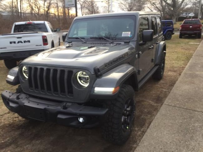 New 2019 Jeep Wrangler UNLIMITED MOAB 4X4 Sport Utility in Falmouth, MA