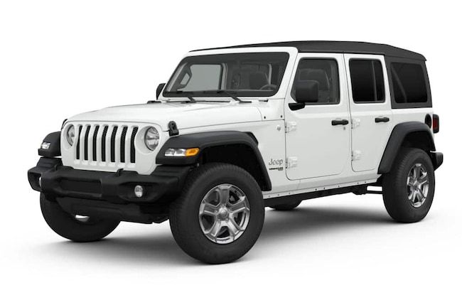 New 2019 Jeep Wrangler UNLIMITED SPORT S 4X4 Sport Utility in Falmouth, MA