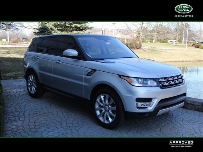 2017 Land Rover Range Rover Sport 3.0L V6 Supercharged HSE Sport Utility