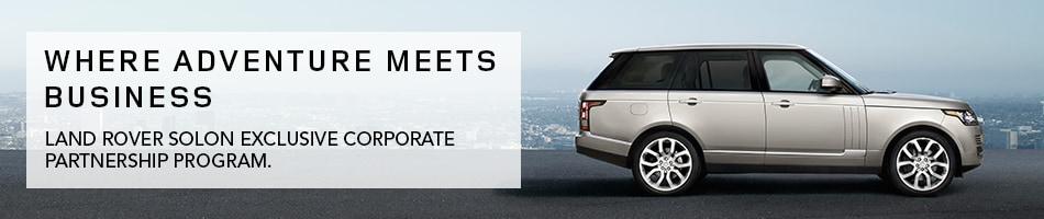 Land Rover Solon >> Corporate Partnership Program | Land Rover Solon