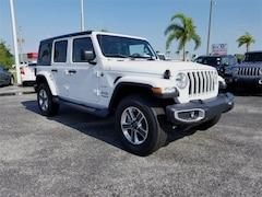 New 2018 Jeep Wrangler UNLIMITED SAHARA 4X4 Sport Utility in Pompano Beach, FL