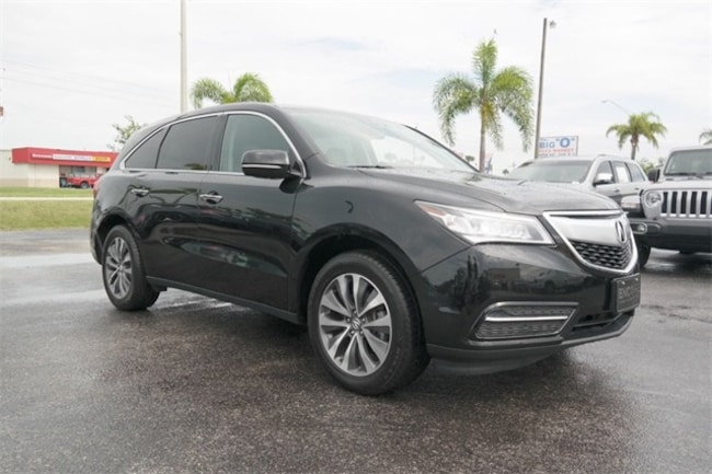 2015 Acura MDX 3.5L Technology Pkg w/Entertainment Pkg SUV