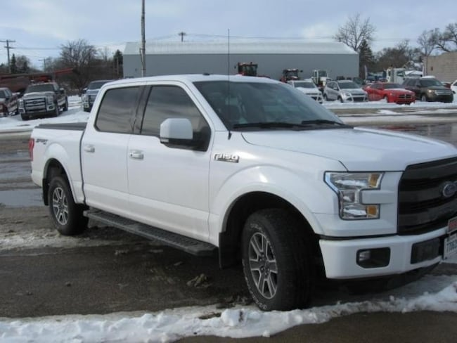 2016 Ford F-150 Lariat Crew Cab Short Bed Truck
