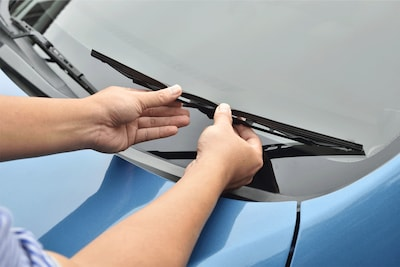 Free wiper installation with purchase of wipers