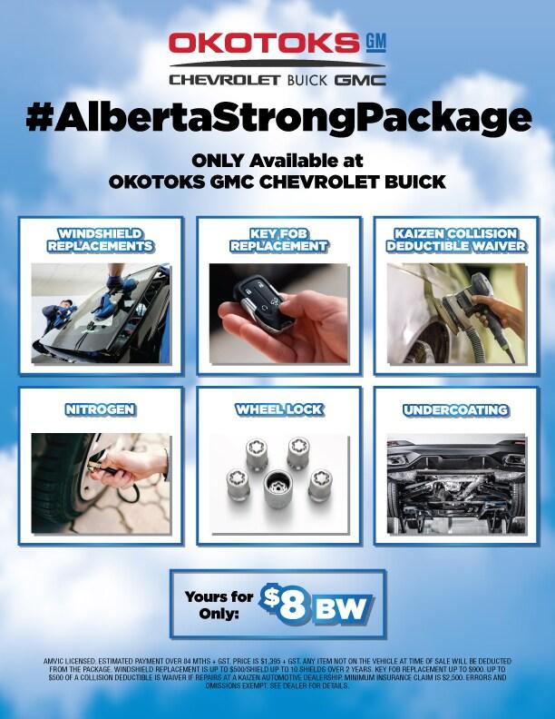 #AlbertaStrongPackage