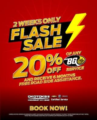 BG Special 20% Off