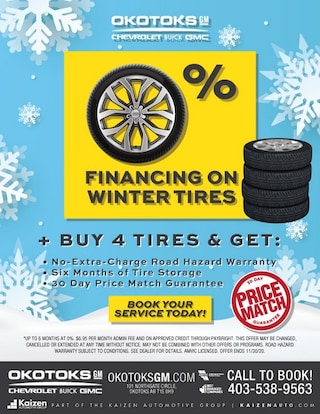 0% Financing on Winter Tires
