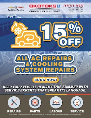 15% Off All AC Repairs & Cooling System Repairs