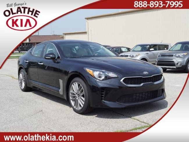 New 2018 Kia Stinger Sedan Olathe, KS