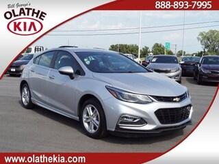 Used Cars for sale 2017 Chevrolet Cruze LT Manual Hatchback in Olathe, KS