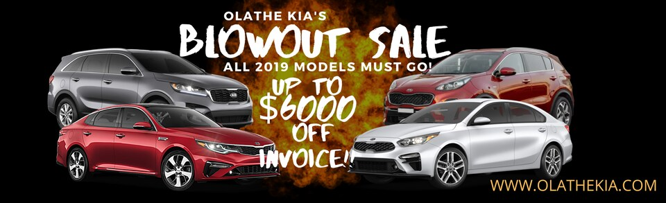 Olathe Kia Blowout Sale