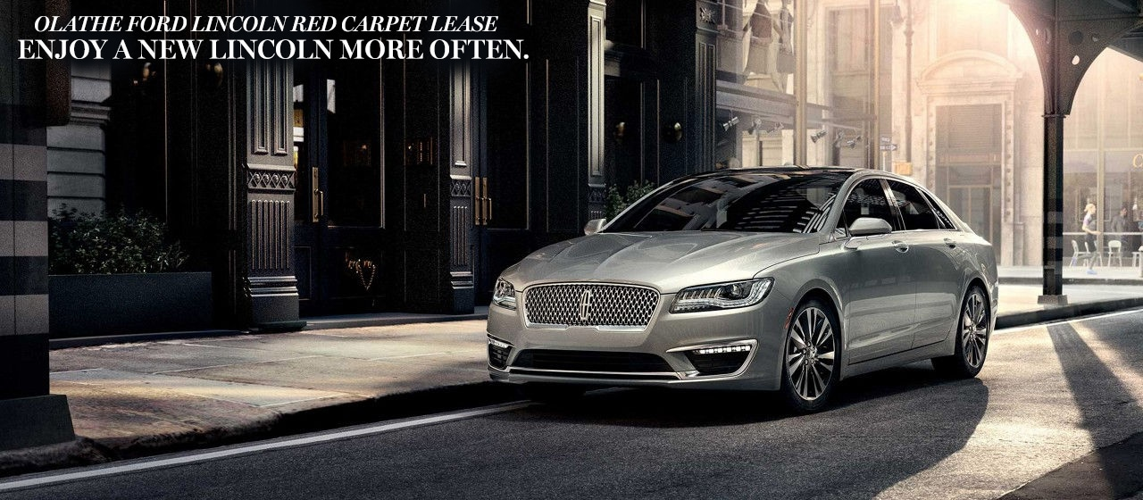 2019 Lincoln Red Carpet Lease Specials Olathe Lincoln