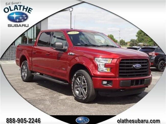 2016 Ford F-150 XLT 4x4 SuperCrew Cab Styleside 5.5 ft. box 145 in