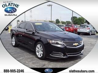 Used Cars for sale 2016 Chevrolet Impala LT w/2LT Sedan in Olathe, KS