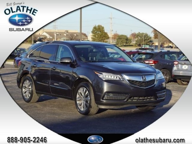 2014 Acura MDX 3.5L Technology Package SH-All-wheel Drive Sport Utility