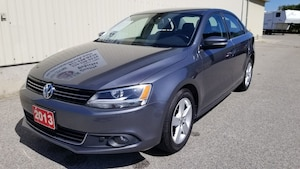 2013 Volkswagen Jetta COMFORTLINE TDI LOCAL WITH ONLY 67, 235 KM'S