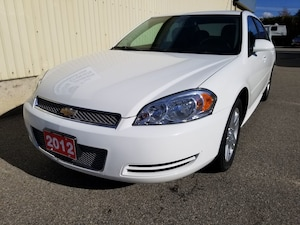 2012 Chevrolet Impala NICELY EQUIPPED WARRANTY LOW PAYMENT 73, 015KM'S