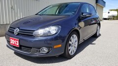 2013 Volkswagen Golf LOCAL FUEL SAVER TDI LEATHER S/ROOF AND MORE Hatchback