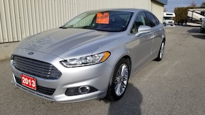 2013 Ford Fusion SE--LEATHER NAVI ONLY 45249 K'S GREAT DEAL