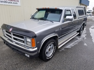 1990 Dodge Dakota NICE OLD TRUCK/ CANOPY/ RUNNING BOARDS Extended Cab