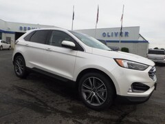 New Ford Vehicles  2019 Ford Edge Titanium SUV Plymouth, IN