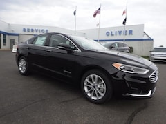 New Ford Vehicles  2019 Ford Fusion Hybrid Hybrid SEL Sedan Plymouth, IN