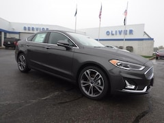 New Ford Vehicles  2019 Ford Fusion Titanium Sedan Plymouth, IN