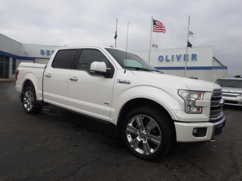 2016 Ford F-150 Limited 4WD SuperCrew 145
