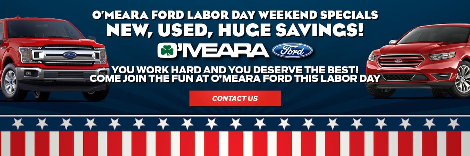 O Meara Ford >> New Ford Used Car Dealer In Northglenn Co O Meara Ford
