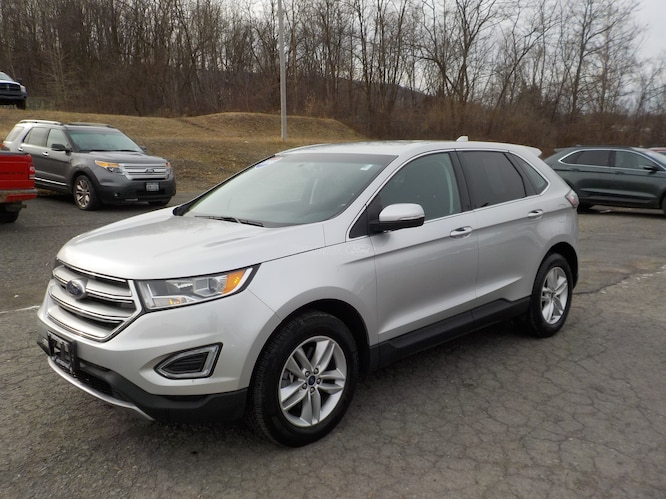 2016 Ford Edge SEL All-Wheel Drive with Locking and Limited-Slip Diff