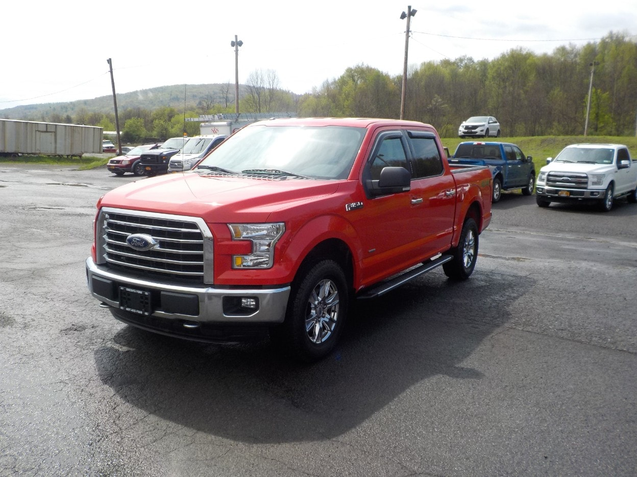 2015 Ford F-150 Four-Wheel Drive with Locking Differential