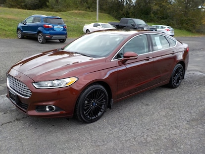 Used 2016 Ford Fusion For Sale at Oneonta Ford LLC | VIN: 3FA6P0T90GR231030