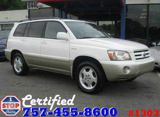 2004 Toyota Highlander Limited SUV