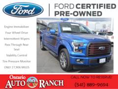 2017 Ford F-150 Lariat Truck SuperCrew Cab for sale in ontario oregon