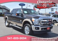 used 2013 Ford F-350 Lariat Truck Crew Cab for sale in ontario oregon