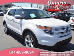 used 2015 Ford Explorer Limited SUV for sale in ontario oregon