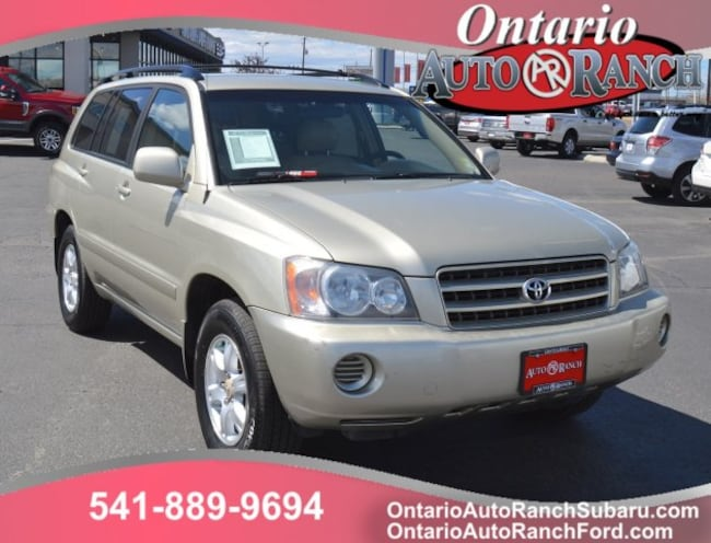 2003 Toyota Highlander Base SUV