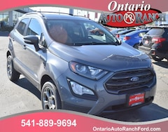 new 2018 Ford EcoSport SES SUV in ontario oregon
