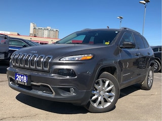 2018 Jeep Cherokee LIMITED**LEATHER**BACK UP CAM**BLUETOOTH** SUV