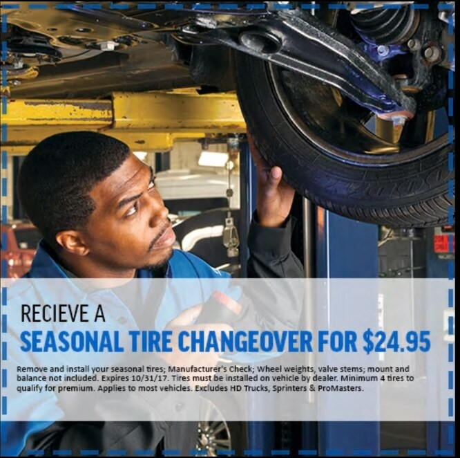 Ontario Chrysler Jeep Dodge Ram: Snow Tires Special Offers, Deals In Toronto