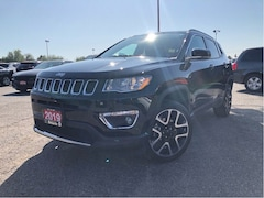 2019 Jeep Compass LIMITED**4X4**LEATHER**SUNROOF**NAV**BACK UP CAM** SUV