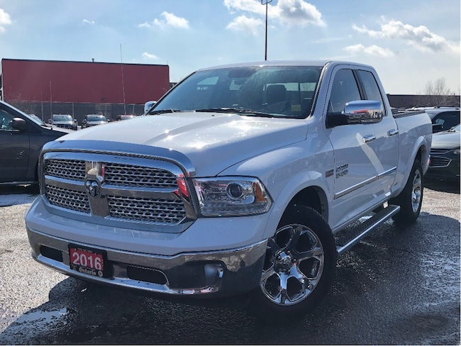 Certified Used 2016 Ram 1500 LARAMIE**LEATHER**NAV**BACK UP CAMERA** Truck Quad Cab in Mississauga