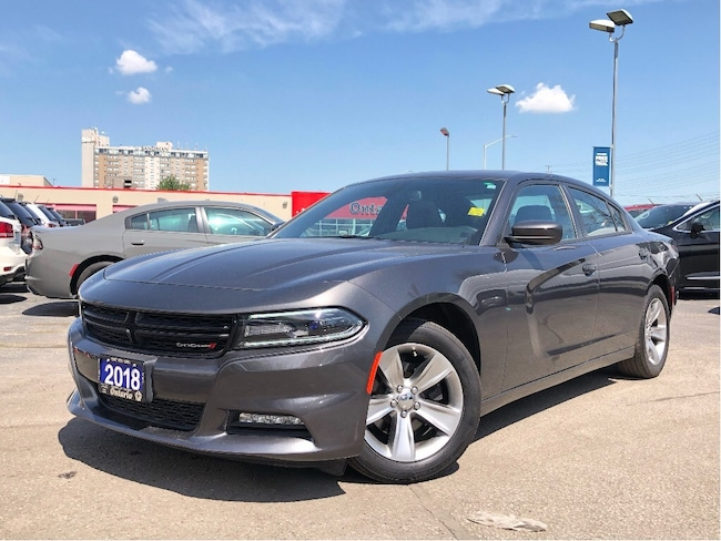 Certified Used 2018 Dodge Charger SXT PLUS**8.4 TOUCHSCREEN**SUNROOF**BLUETOOTH** Sedan in Mississauga