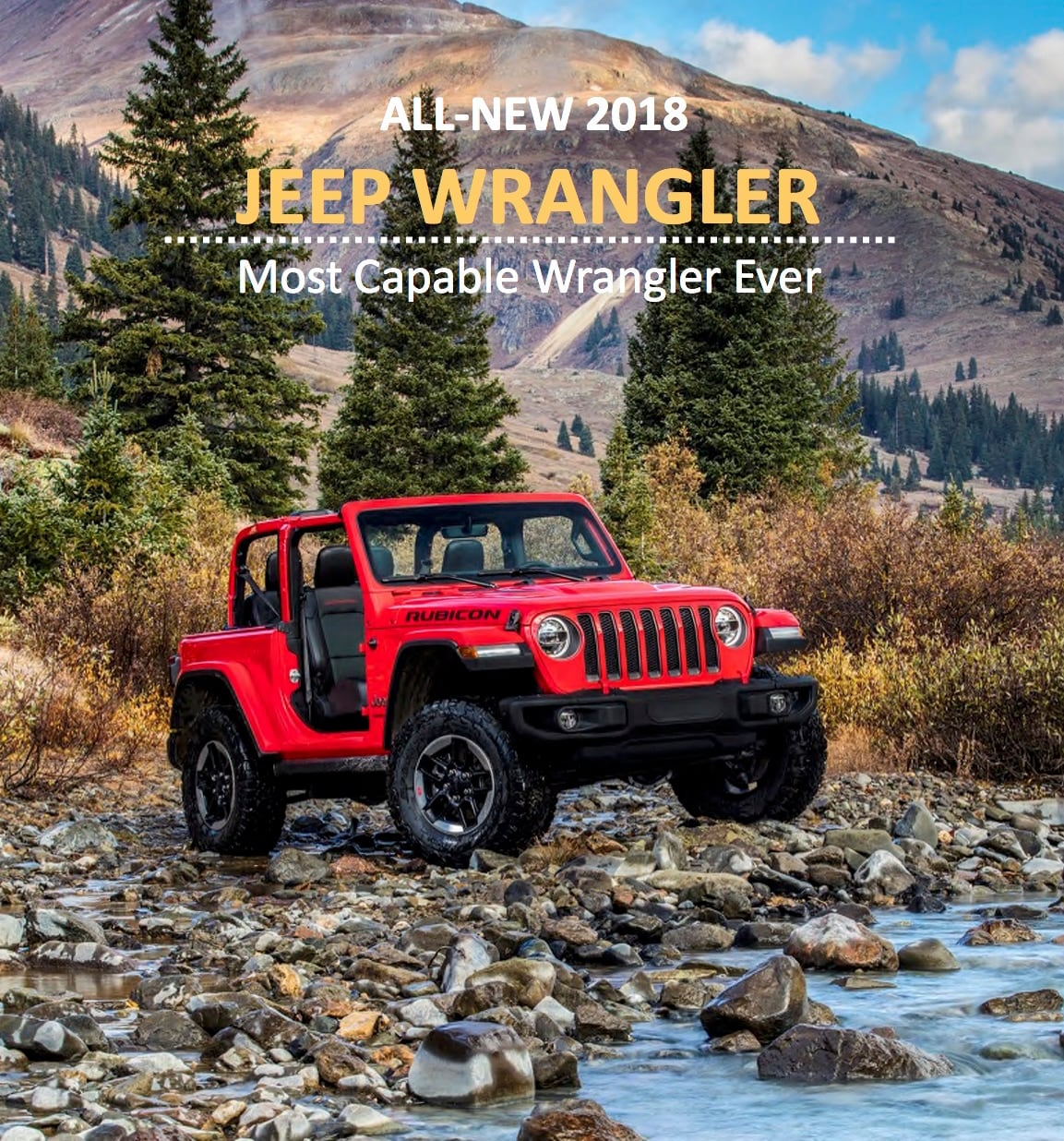 New 2018 Jeep Wrangler JL For Sale In Toronto, Mississauga