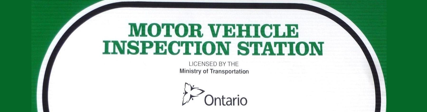 Mto Motor Vehicle Inspection Station Toronto Mississauga Brampton
